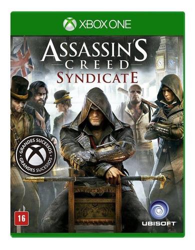 jogo assassins creed syndicate - xbox one (midia física)