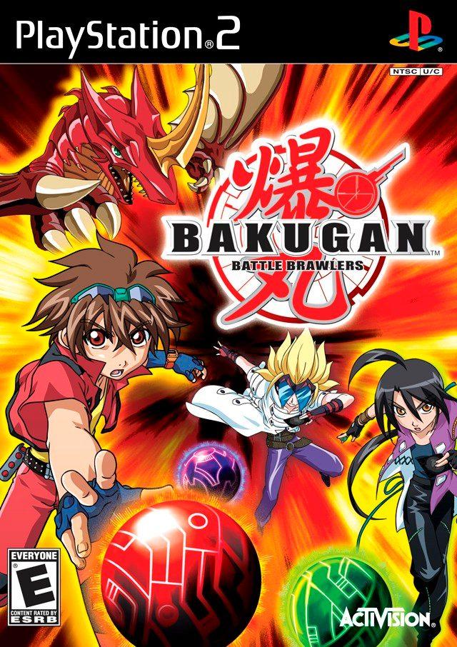 o jogo bakugan para ps2