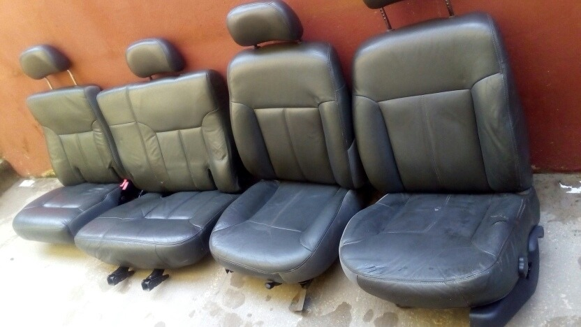 Jogo Bancos Couro Blazer 4.3 V6 Original - R$ 700,00 em ...