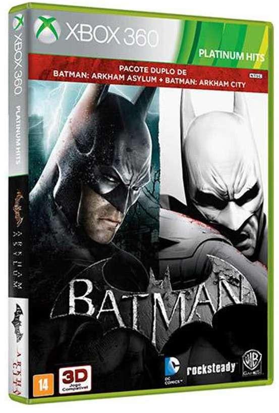 jogo batman  arkham asylum + arkham city - - não perca. Carregando zoom. d2b917027b1