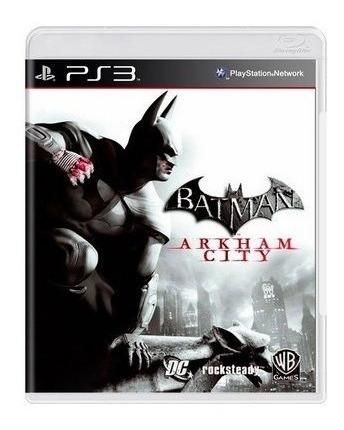 jogo batman arkham city ps3 mídia física frete grátis