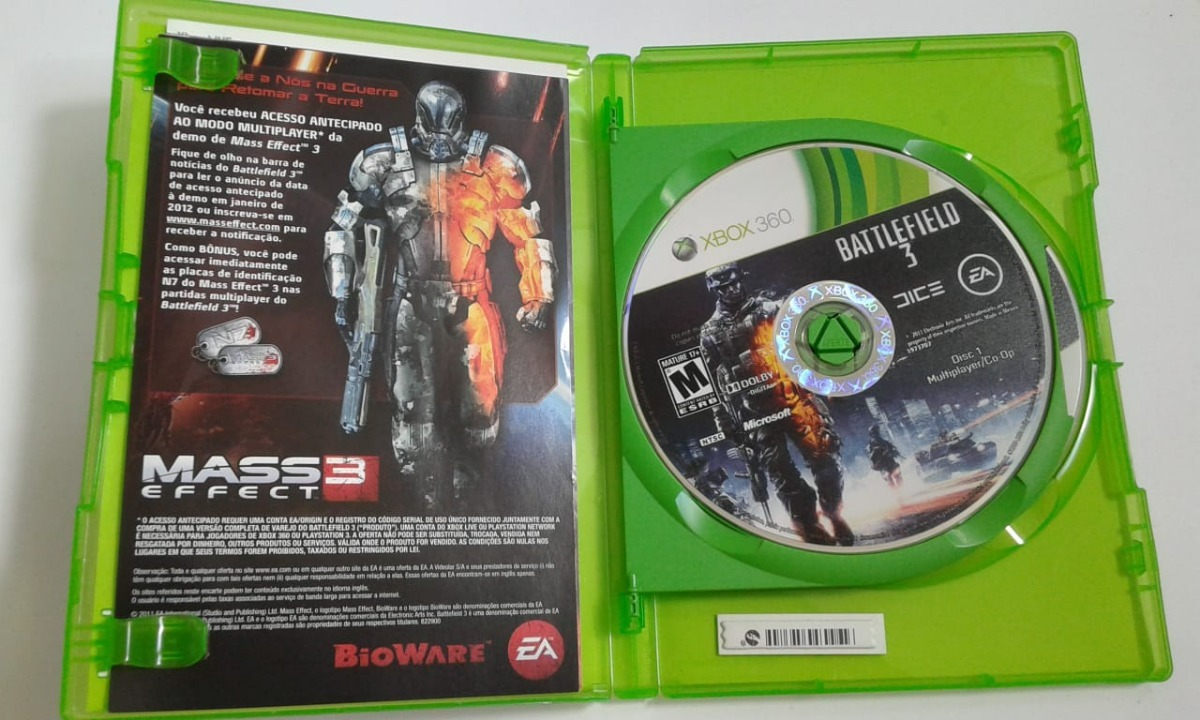 Jogo Battlefield 3 Xbox 360 Original Usado