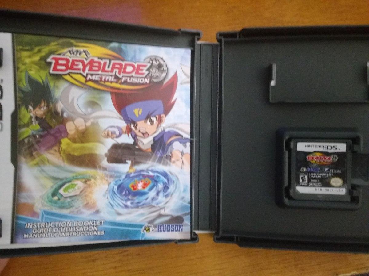 Jogo Beyblade Metal Fusion Original Nintendo Ds - R$ 20,00 ...