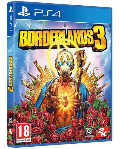 jogo borderlands 3 ps4 midia fisica cd original lacrado br