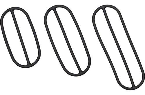 jogo braçadeiras borracha garmin reposição sensor cadência