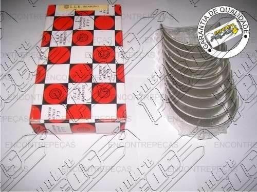 jogo bronzina de mancal mitsubishi galant sohc