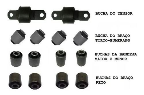 jogo buchas suspensão traseira ford focus 1999 a 2012