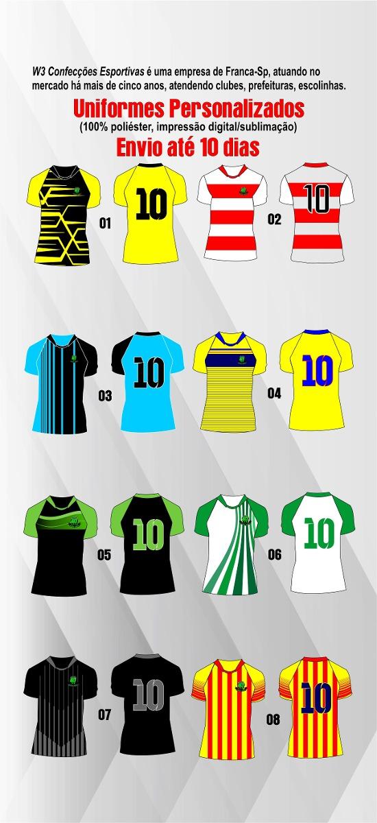 11e3b4c4dea5b jogo c 10 camisas personalizado logotipos nomes brasão numer. Carregando  zoom.