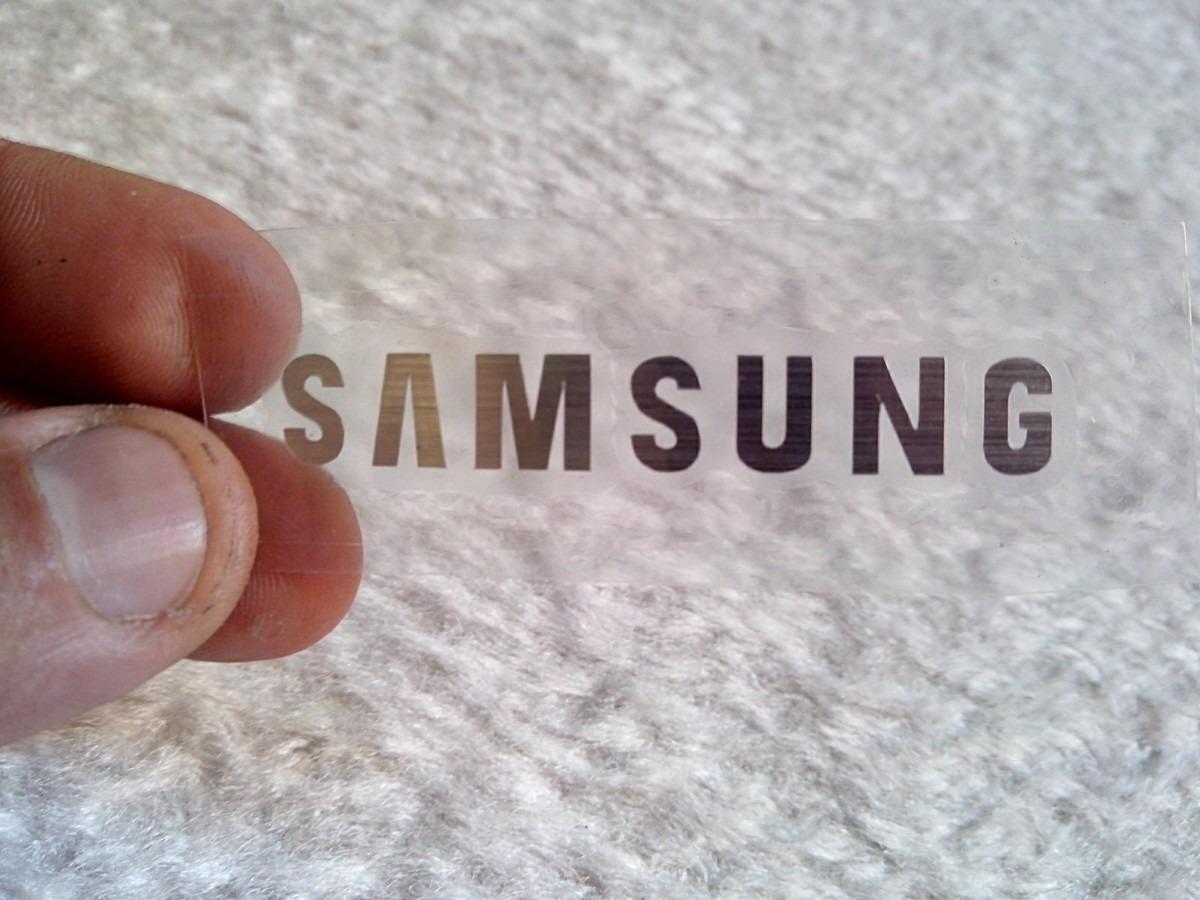 Notebook samsung para jogos - Jogo C 6 Adesivos Samsung De 6 Cm Vinil Adesi A O Escovado