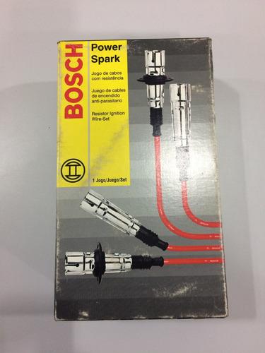 jogo cabo velas, bosch do fiat uno turbo 1.4 mpi 9295080038