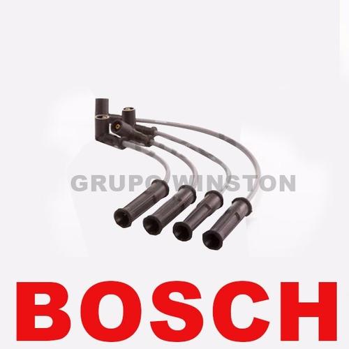 jogo cabos de velas bosch logan sandero symbol 1.6 flex