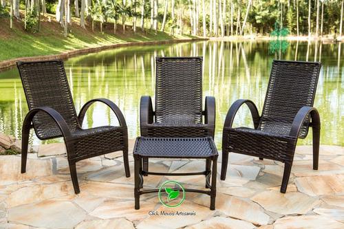 jogo cadeira área,jardim,varanda,piscina e churrasqueira