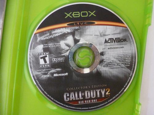 jogo call of duty 2 xbox primeira geração original e raro !!