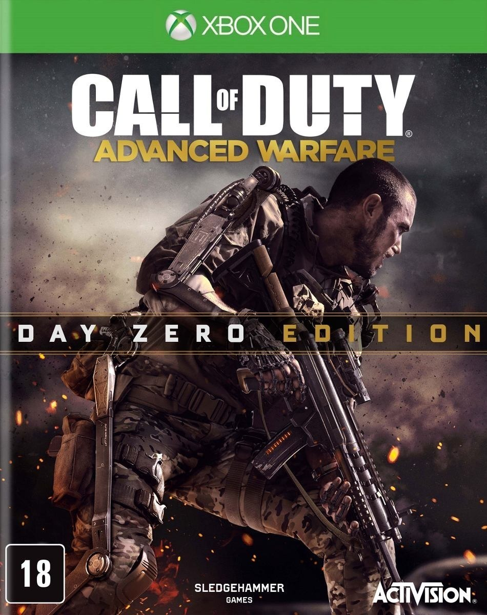 Jogo Call Of Duty: Advanced Warfare Edição Day Zero Xbox One