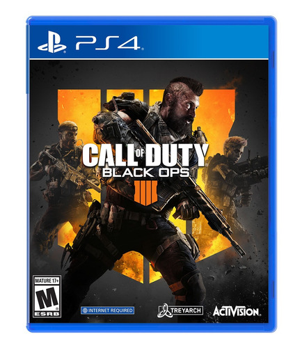 jogo call of duty black ops 4 - cod bo4  ps4