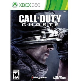 Jogo Call Of Duty Ghosts Xbox 360  Ntsc Em Dvd Original