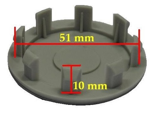 jogo calota calotinha centro miolo de roda hyndai i30 59mm