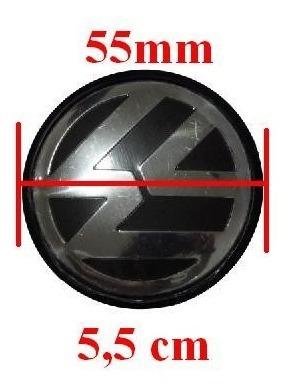 jogo calota calotinha miolo roda vw 51mm gol g5 emblema vw