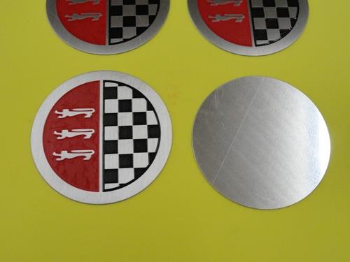 jogo calota emblema da roda corcel gt 1972 a 77 novo 5,7 cm