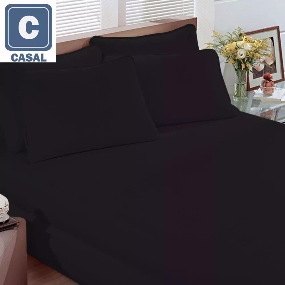 5d39faa01f jogo cama lençol fronha malha casal preto cores rock 3 pç. Carregando zoom.