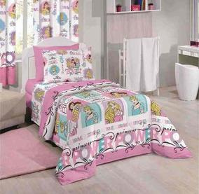 aeb5a45568 Jogo De Cama Da Cinderela Princesas Disney - Roupa de Cama no Mercado Livre  Brasil