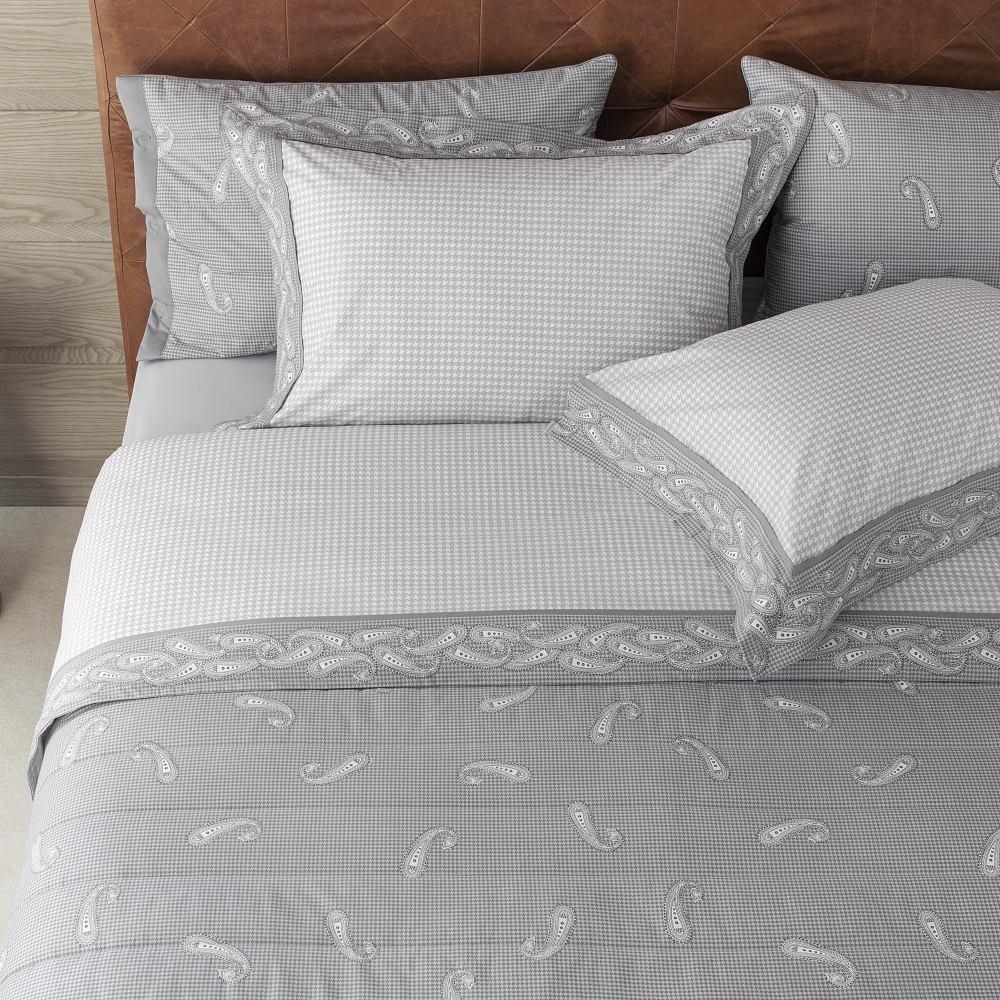 35e9441569 jogo cama solteiro buddemeyer 200 fios 100% algodão paisley. Carregando  zoom.