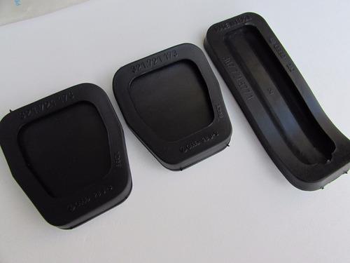 jogo capa de pedal gol voyage parati quadrado original vw