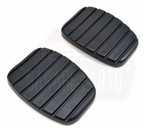 jogo capa pedal freio embreagem renault sandero logan 2012/