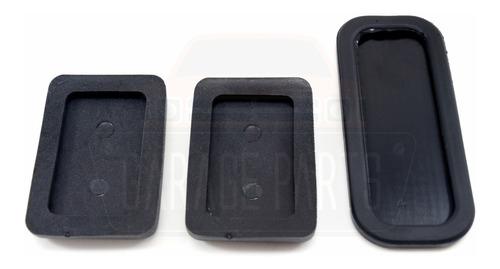 jogo capas pedal acelerador freio embreagem mitsubishi l200