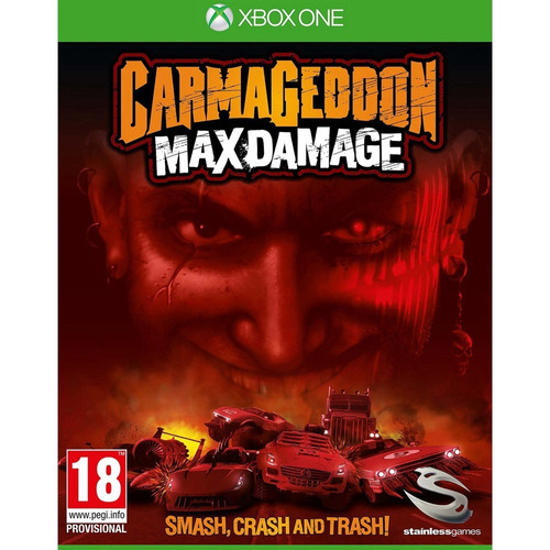jogo carmageddon max damage xbox one