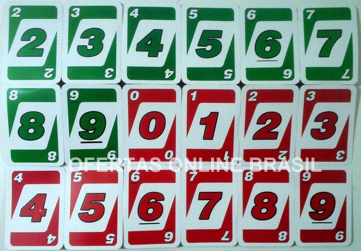 Jogo Mau Mau Cartas Baralho Semelhante Ao Uno 54 Cartas R 2