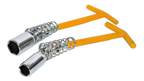 jogo chave de vela articulada 16mm-21mm