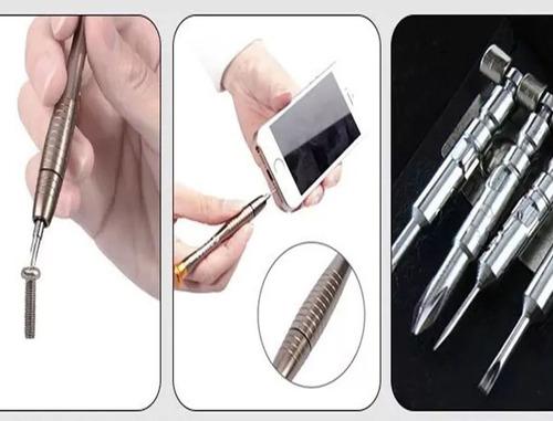 jogo chave triangulo philips torx precisão tri wing celular