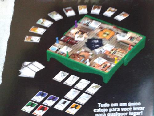 jogo clue - hasbro - viagem