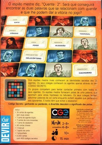 jogo codigo secreto - devir - bonellihq z20
