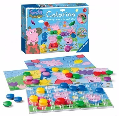 jogo colorino peppa pig - educativo
