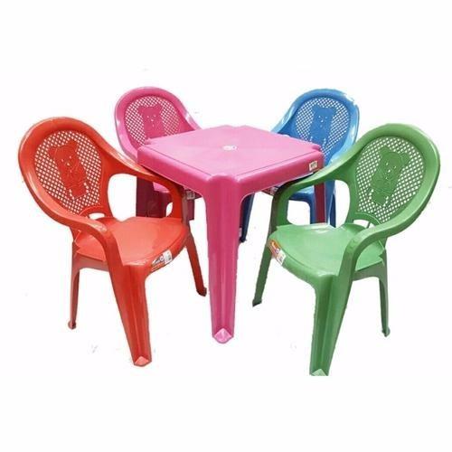 jogo conjunto de mesa com cadeiras plástica infantil kit