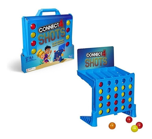 jogo connect 4 shots hasbro