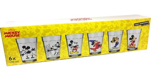 jogo copos disney mickey linha do tempo com 6 unidades