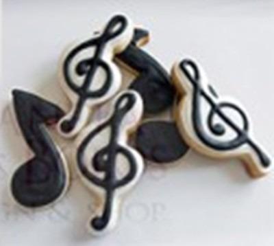 jogo cortador notas musicais 4 peças em aço inox