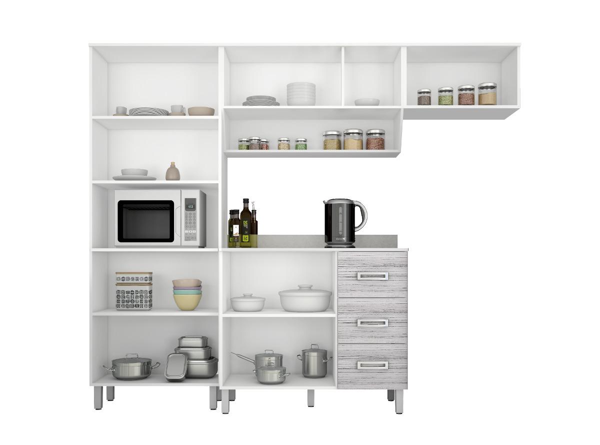 Jogo Cozinha Compacta 04 Pe As Franciele Poliman R 599 00 Em