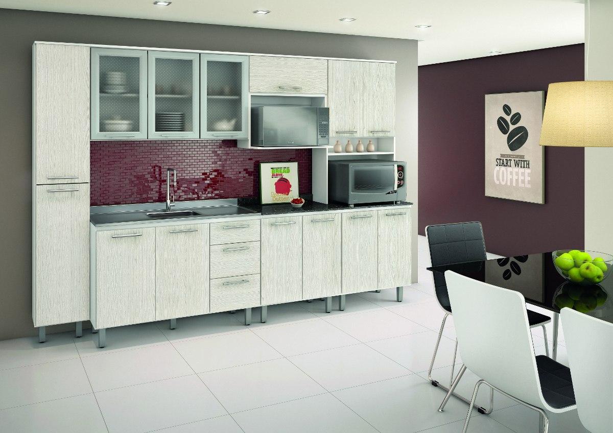 Jogo Cozinha Completa Audacia Branco 100 Mdf Nicioli R 1 498 00