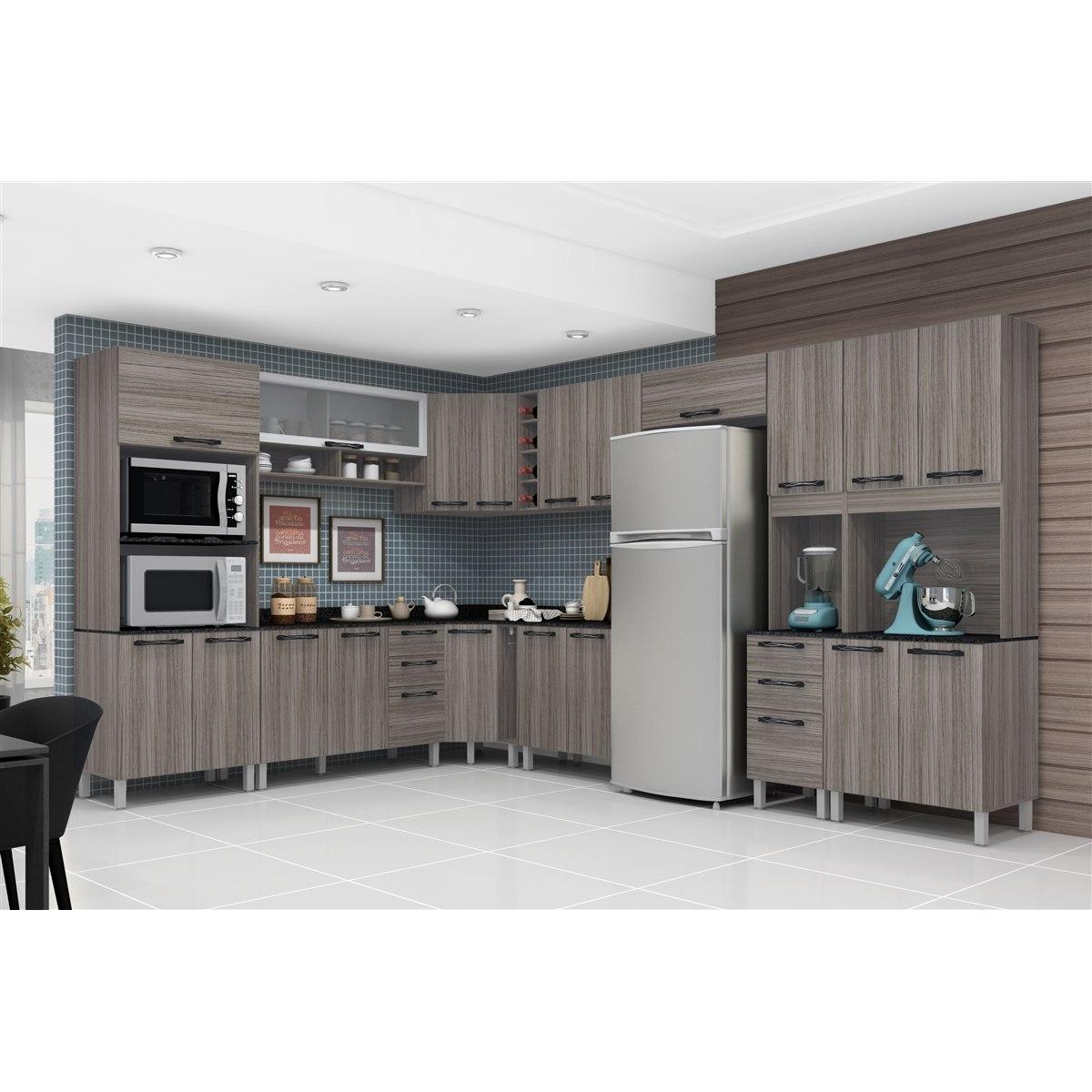 Jogo Cozinha Modulada Completa 12 Pe As Inovare Poliman R 2 190