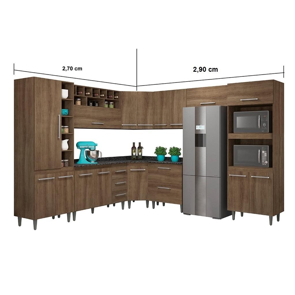 Jogo Cozinha Modulada Monalisa Completa 9 Pe As Terraro Move R