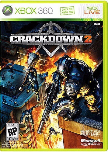 jogo crackdown 2 xbox360 ntsc midia fisica original