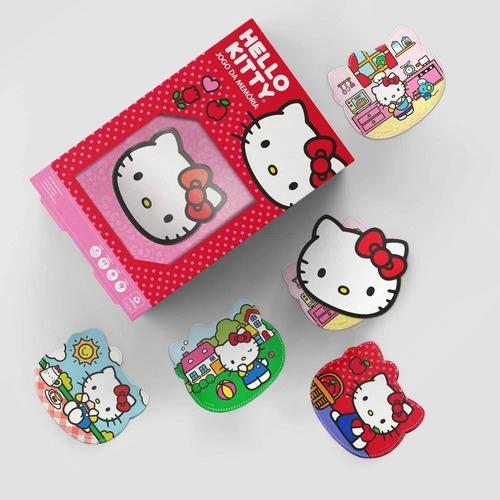 jogo da memoria hello kitty com 33 cartas copag 90960