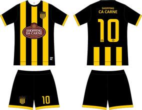 bddf2e6253 Kit Short Futebol Personalizados no Mercado Livre Brasil