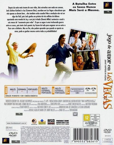 jogo de amor em las vegas dvd original novo lacrado dublado