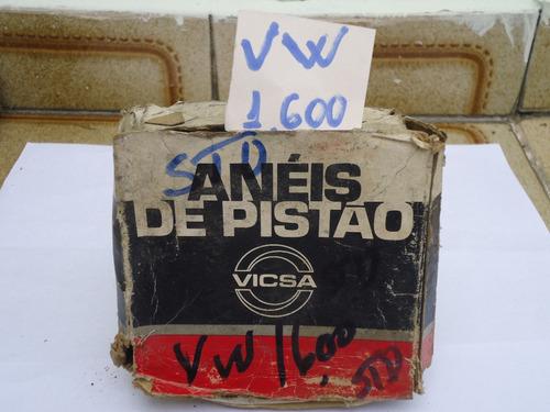 jogo de aneis do vw 1600 std okm alc/gas.