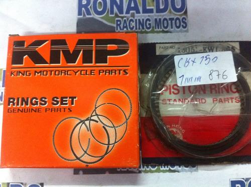 jogo de anel para pistão de cbx  150cc medida 1.00m